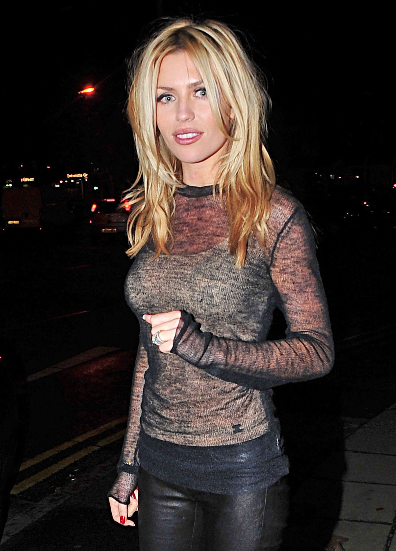 Abigail Abbey Clancy out in Liverpool - HawtCelebs