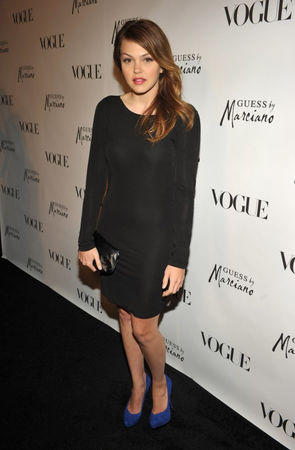 Aimee Teegarden at the GUESS and VOGUE