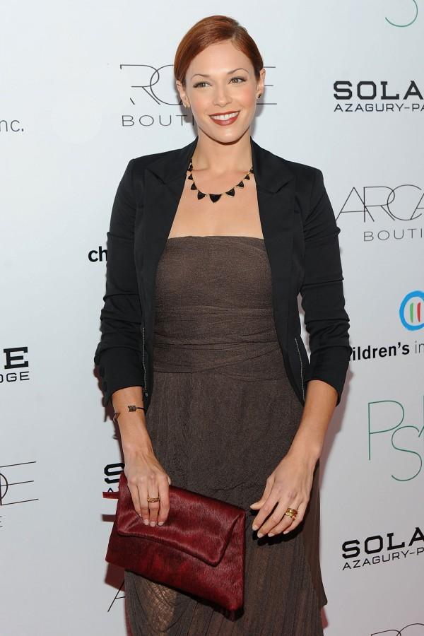 Amanda Righetti at the Second Annual Autumn Party