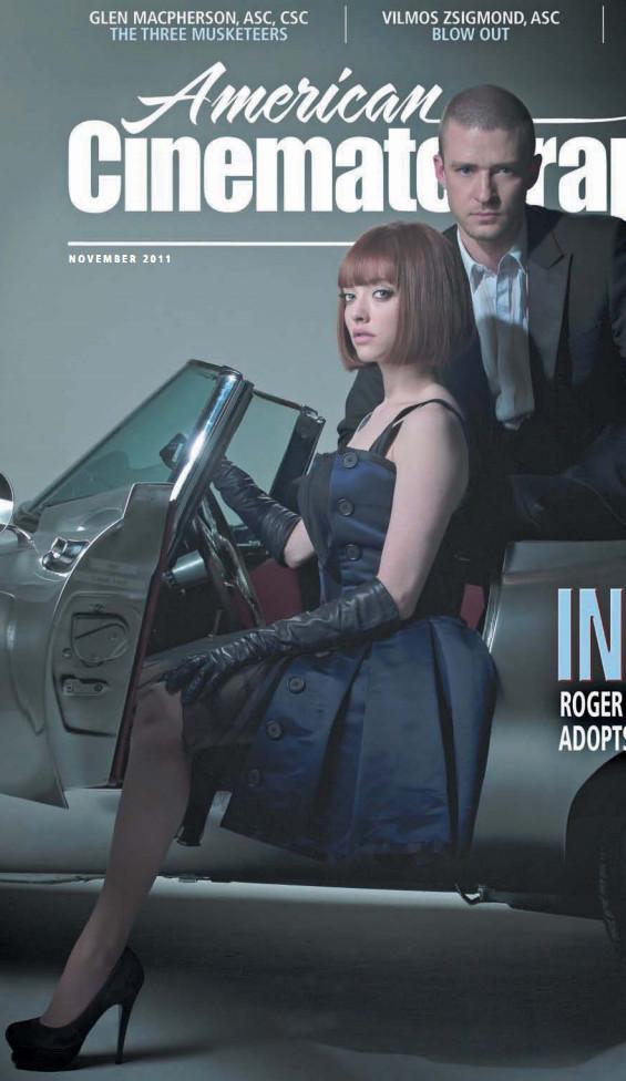 Amanda Seyfried and Justin Timberlake Cover American Cinematographer