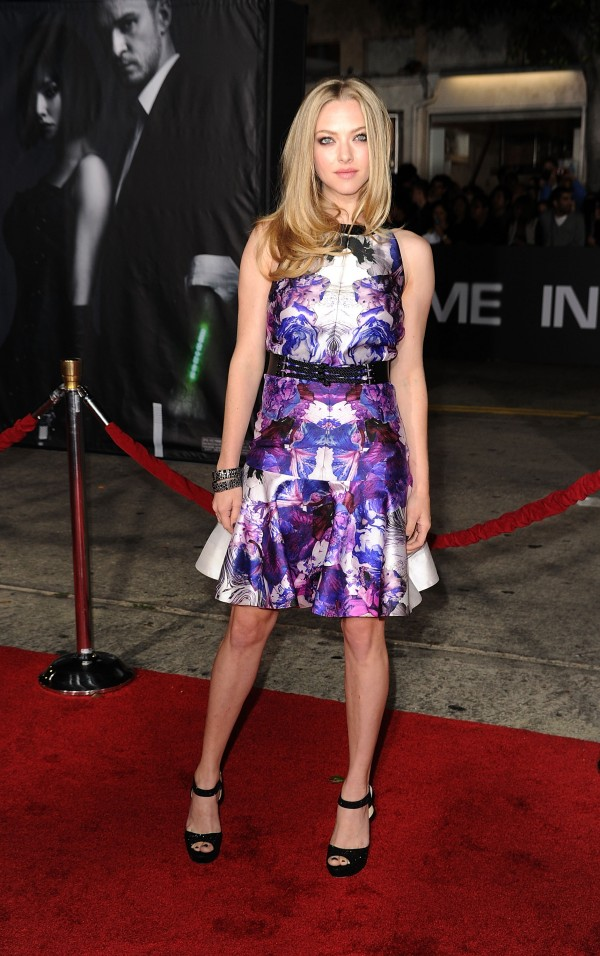 Amanda Seyfried at In Time Premiere in Westwood