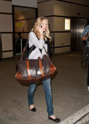Amanda Seyfried at LAX Airport