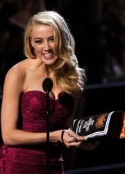 Amber Heard at Spike TV Scream Awards