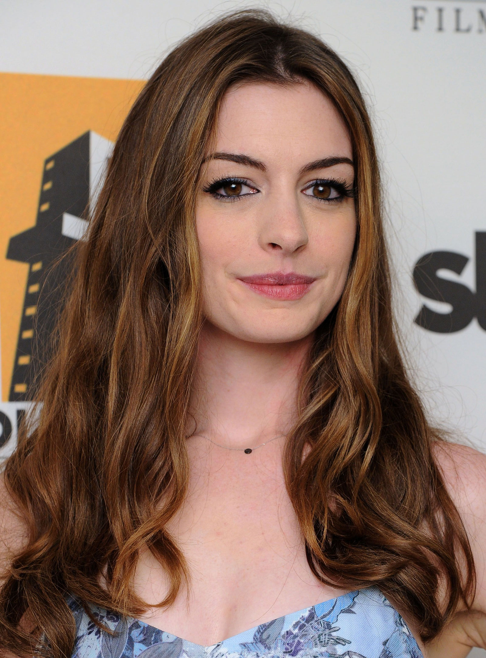 Anne Hathaway at The H... Anne Hathaway