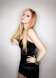 Avril Lavigne at Wild Rose Photoshoot