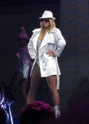 Britney Spears Performs at the O2 Arena