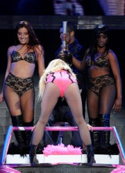 Britney Spears Performs at the Park and Suites Arena