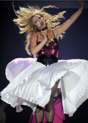 Britney Spears at Femme Fatale Tour in France