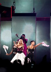 Britney Spears at Femme Fatale Tour in Zurich