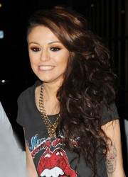 Cher Lloyd at BBC Radio 1 Studios in London