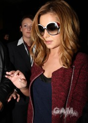 Cheryl Cole at LAX