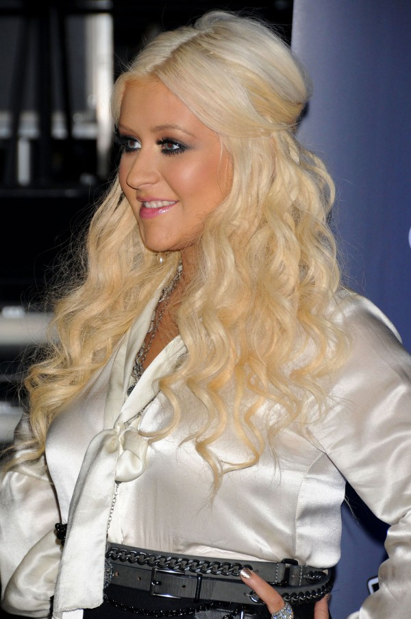 Christina Aguilera at The Voice Season 2