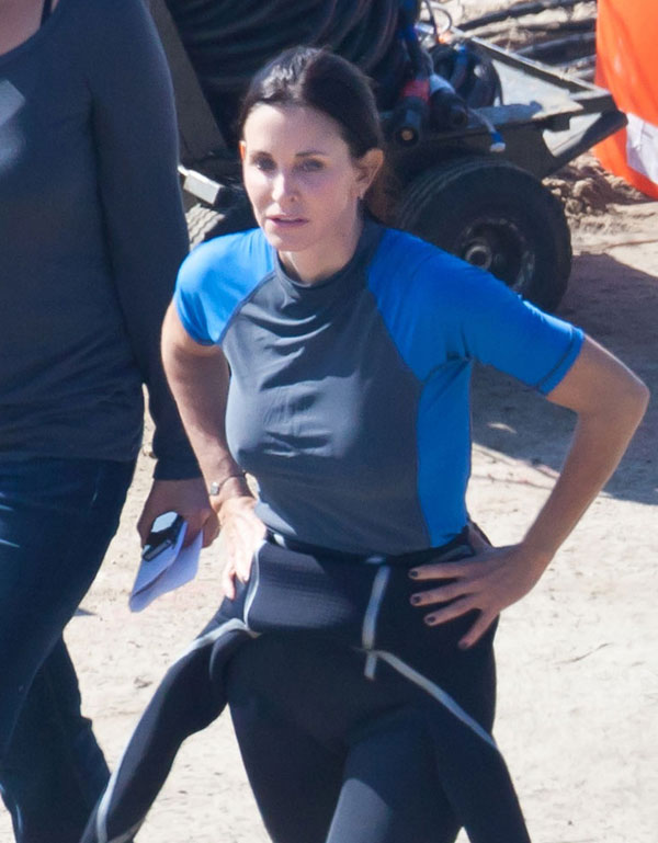 Courteney Cox at Cougar Town