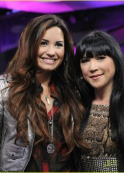 Demi Lovato at MuchMusic