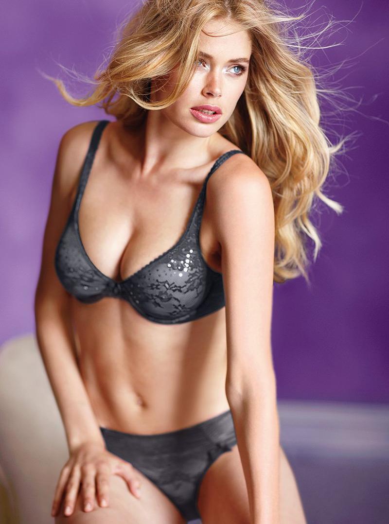 Doutzen Kroes in Victoria's Secret Lingerie - HawtCelebs - HawtCelebs