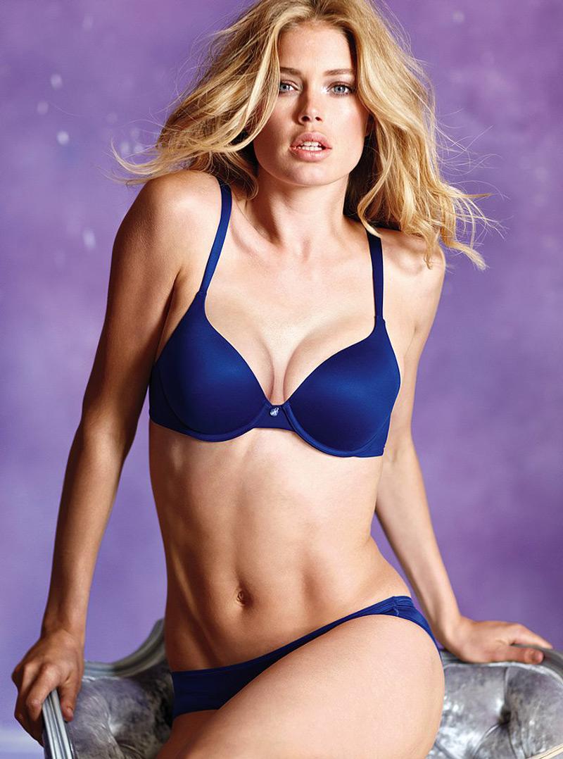 Doutzen Kroes In Victoria S Secret Lingerie Hawtcelebs