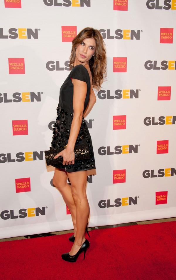 Elisabetta Canalis at the GLSEN Respect Awards