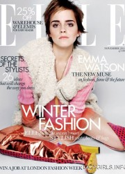 Emma Watson in Elle, UK November 2011 Issue