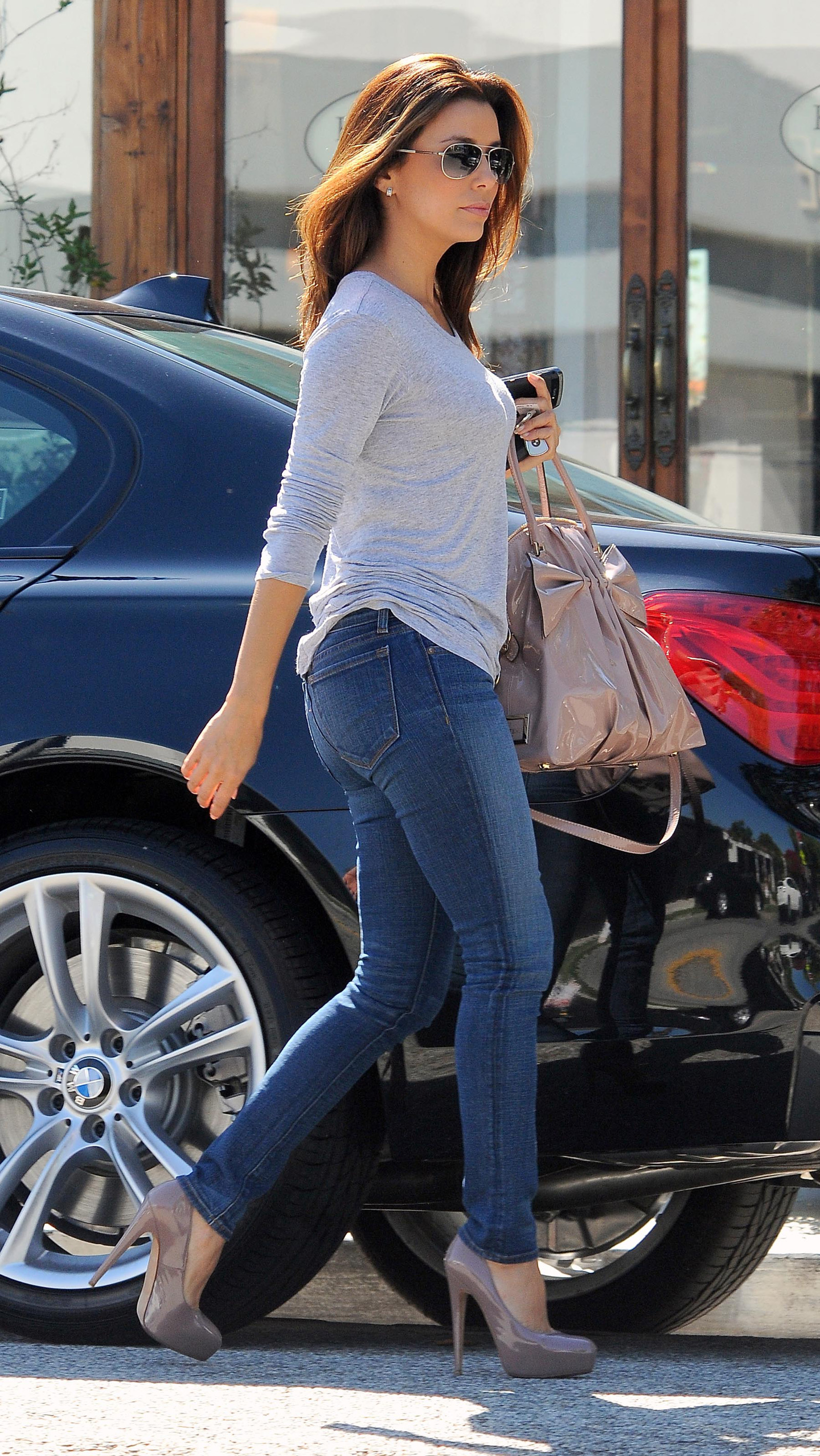Eva Longoria In Tight Jeans West Hollywood Hawtcelebs