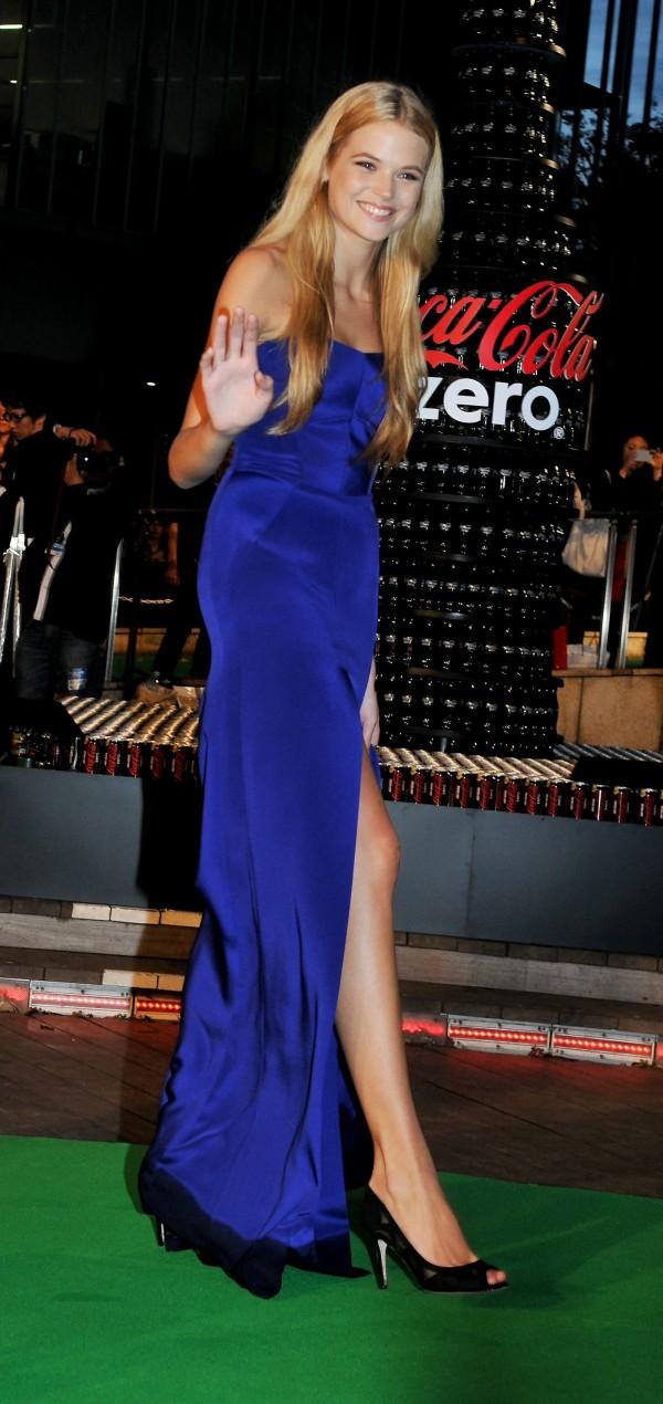 Gabriella Wilde at the Tokyo International Film Festival