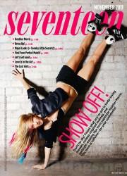 Heather Morris in Seventeen Magazine