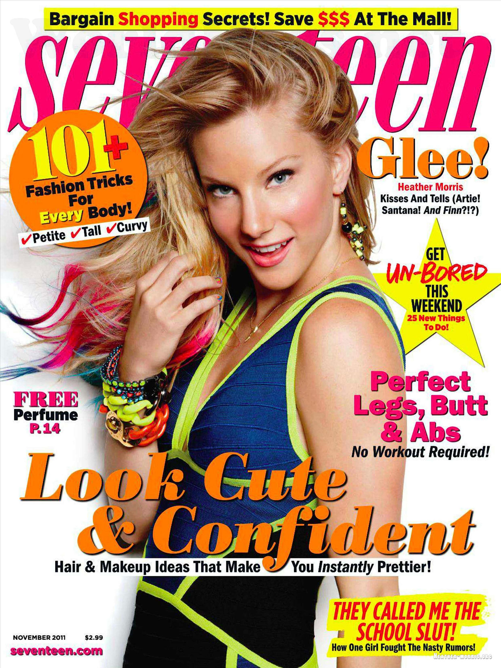 seventeen magazine heather morris november issue valuemags montague photoshoot emily esquire hawtcelebs subscription digital freeoffer asp liam direction