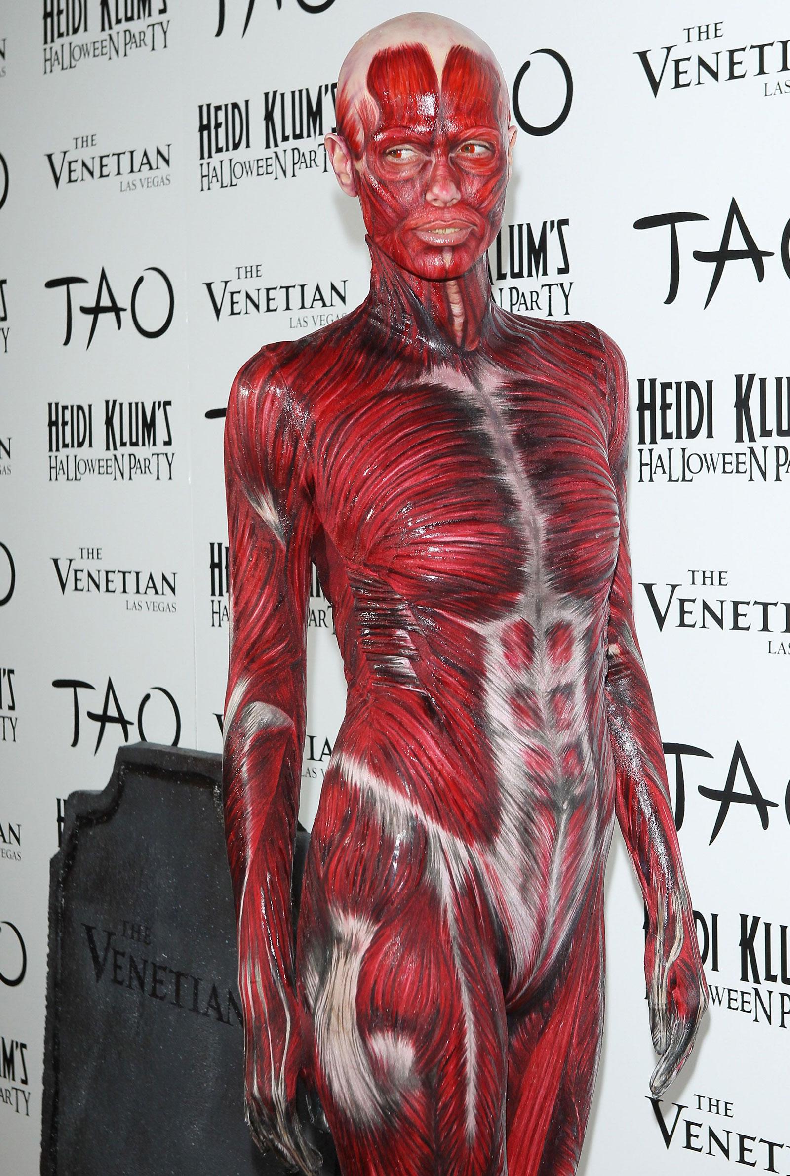 Heidi Klum At 12th Annual Halloween Party In Las Vegas Hawtcelebs