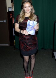 Hilary Duff Promoting Her Latest Book