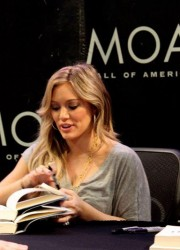 Hilary Duff Signed Book