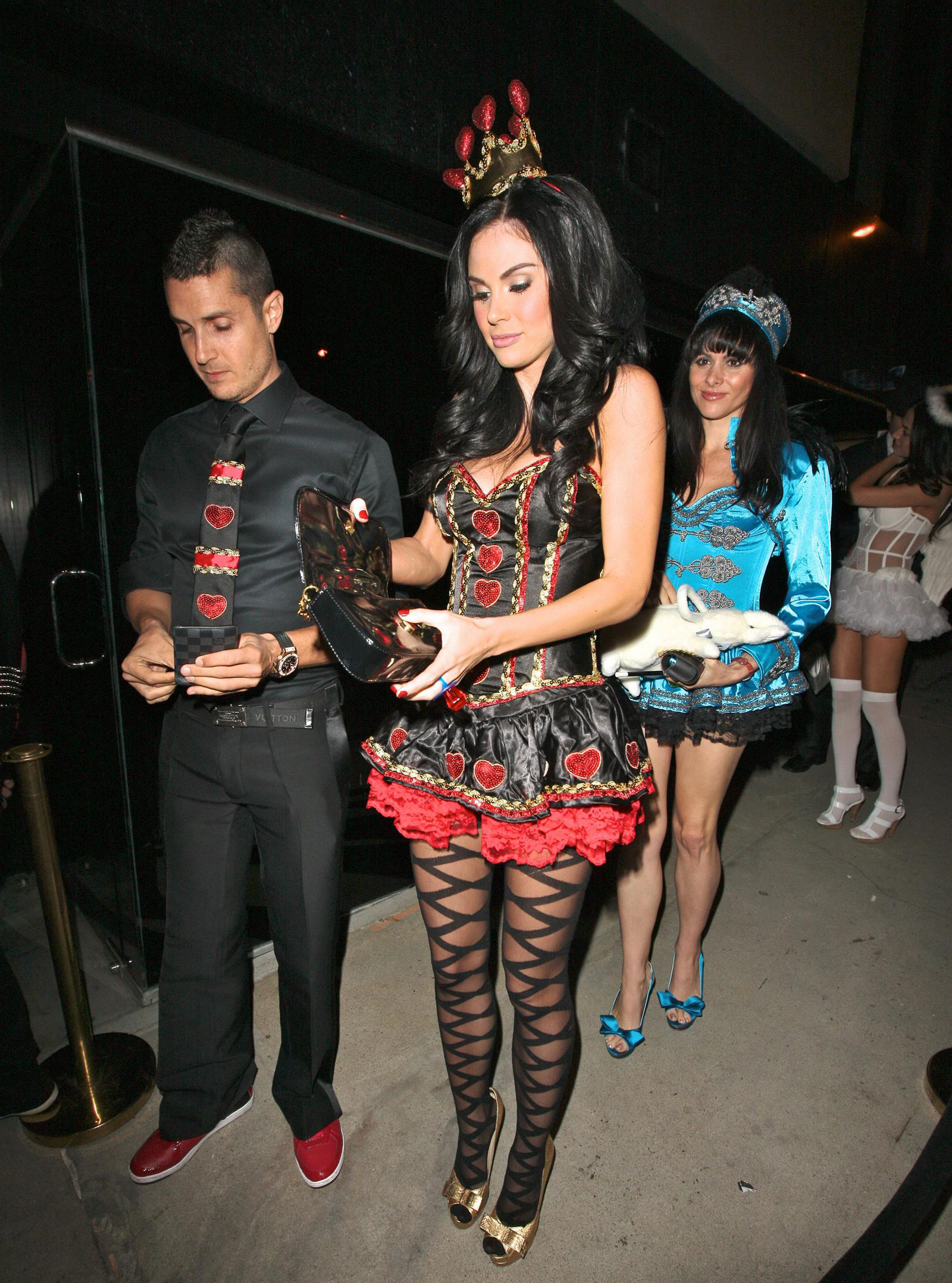 Jayde Nicole at Halloween Party at Trousdale Nightclub ...