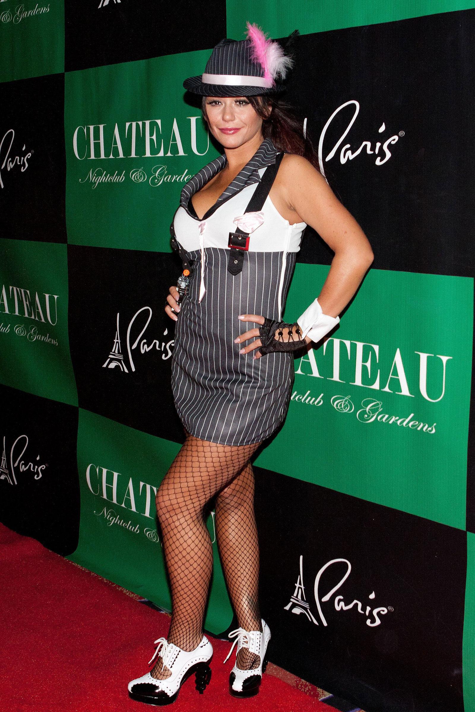 Farley at pimp n ho costume ball at chateau nightclub in las vegas