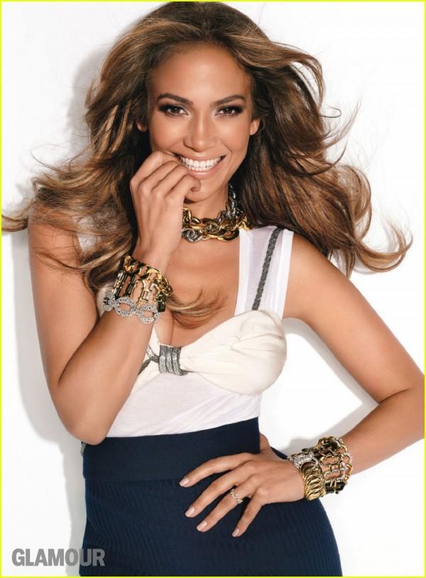 Jennifer Lopez in Glamour Magazine