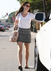 Jessica Biel in Short Skirt