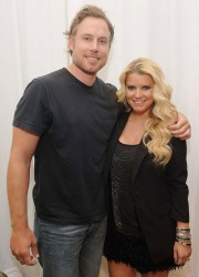Jessica Simpson at Ready To Wear J Simpson Collection