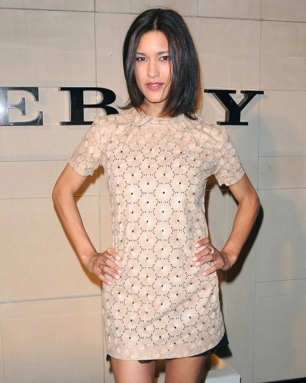 Julia Jones at Burberry Body Launch