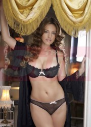 Kelly Brook at 2012 Lingerie Calendar