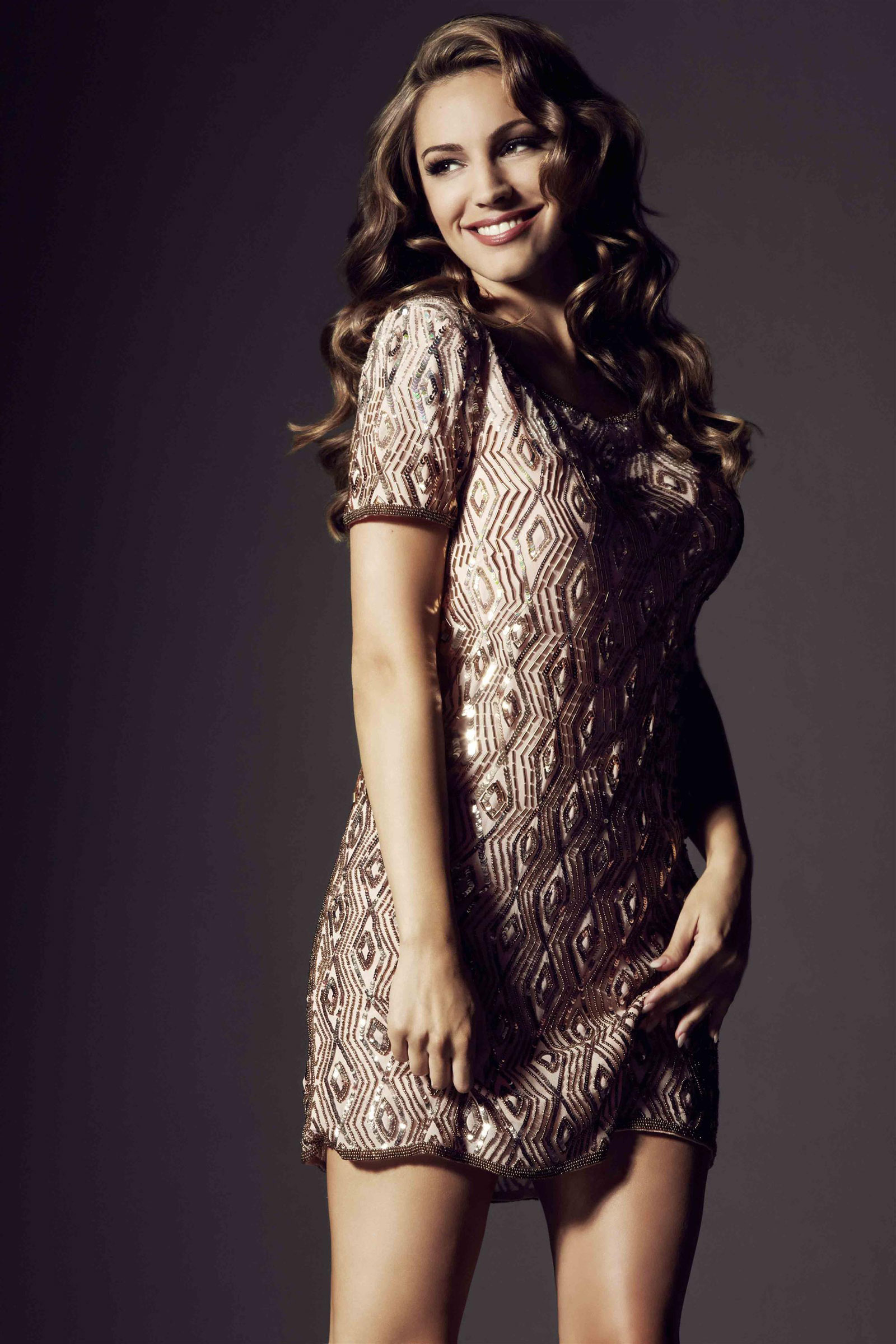 Kelly Brook In New Look Photoshoot HawtCelebs