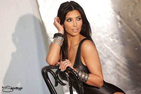 Kim Kardashian in Nick Saglimbeni's Photoshoot