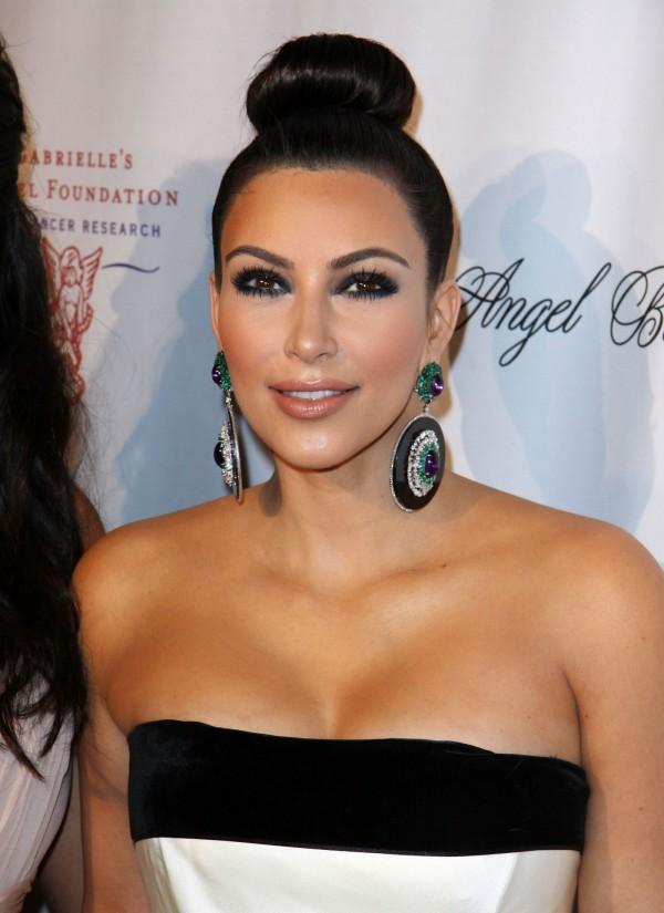 Kim Kardashian at Angel Ball