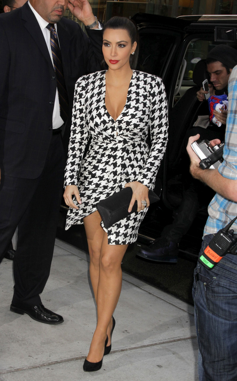 Kim Kardashian on Today Show in New York - HawtCelebs