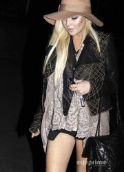 Lindsay Lohan at the Hollywood Bowl