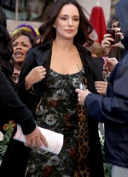 Madeleine Stowe at Good Morning America in New York