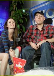 Megan Fox at Young Hollywood Studio