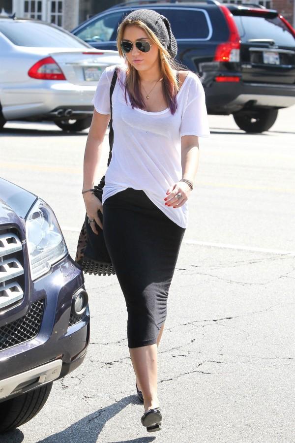 Miley Cyrus in Studio City