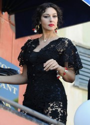 Monica Bellucci at The Dolce & Gabbana