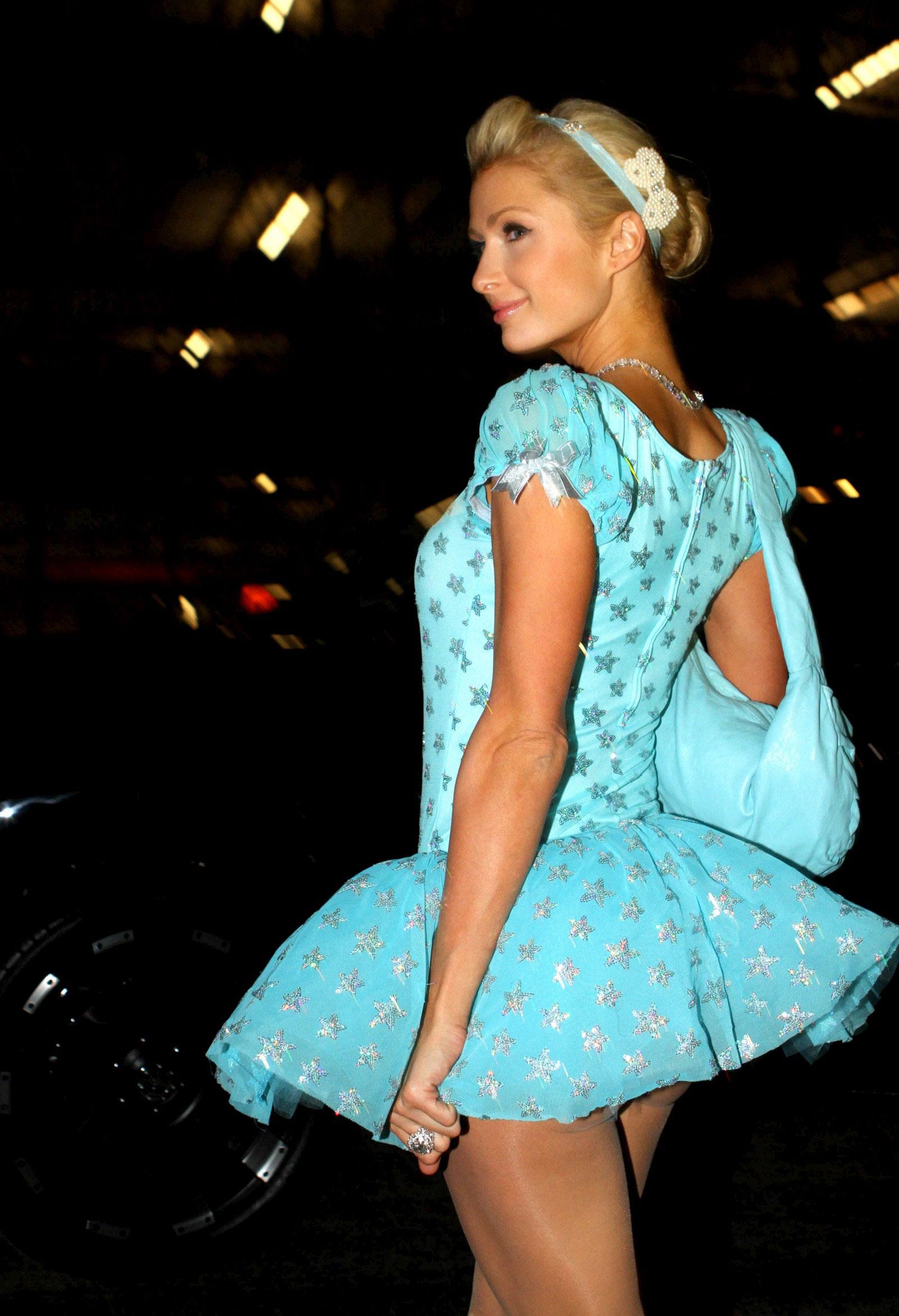Paris Hilton at Halloween Party - HawtCelebs