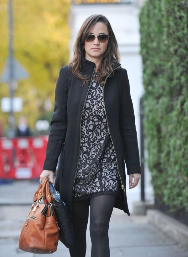 Pippa Middleton in Short Dress
