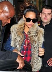 Rihanna at Mahiki Club in London