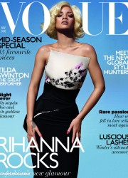 Rihanna in Vogue UK, November 2011 Issue