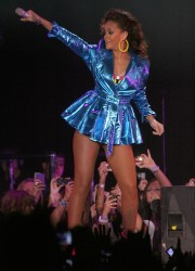Rihanna performs at The Liverpool Echo Arena